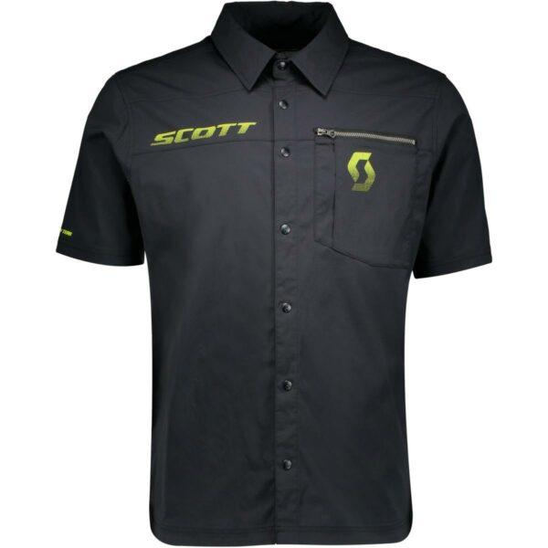 scott sportovní košile Factory Team kr.rukáv 2020