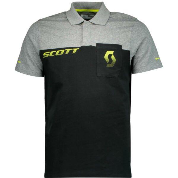 scott sportovní tričko Polo CO Factory Team smkrátkým rukávem 2020