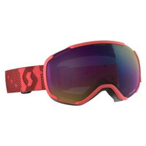 Lyžařské brýle SCOTT Faze II enhancer teal chrome