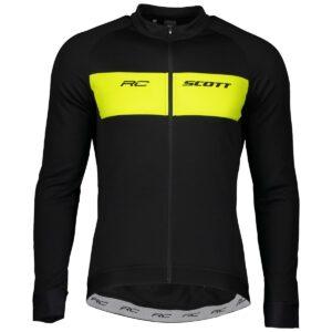 Scott pánský cyklistický dres RC Warm s dlouhým rukávem 2021