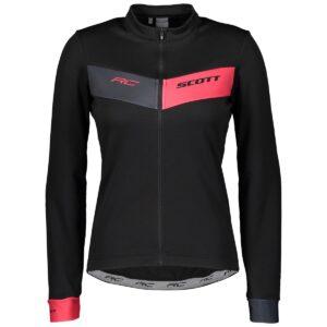 Scott dámské cyklistické triko RC Warm s dlouhým rukávem 2021