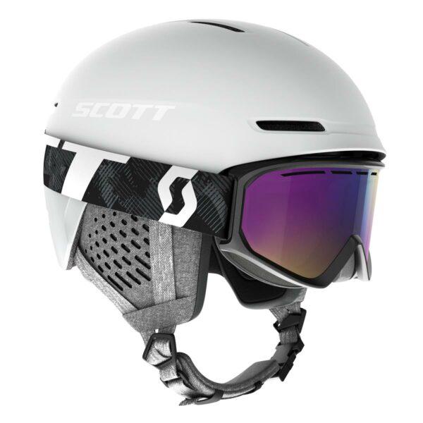 Scott Combo helma Track + brýle Fact 2020_2021