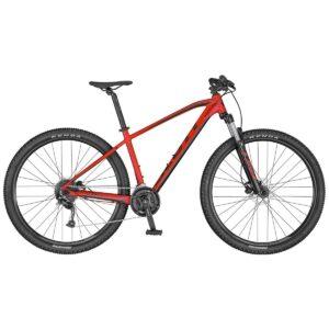 scott Aspect 750 red/black horské kolo s pevným rámem 2020