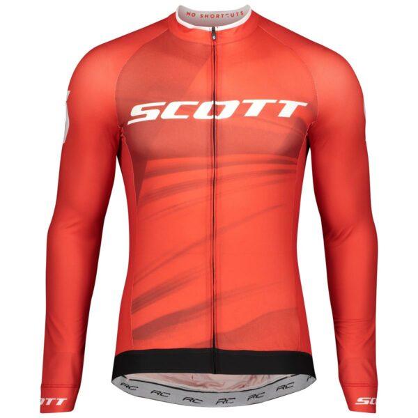 scott cyklistický dres s dlouhým rukávem RC Pro 2020