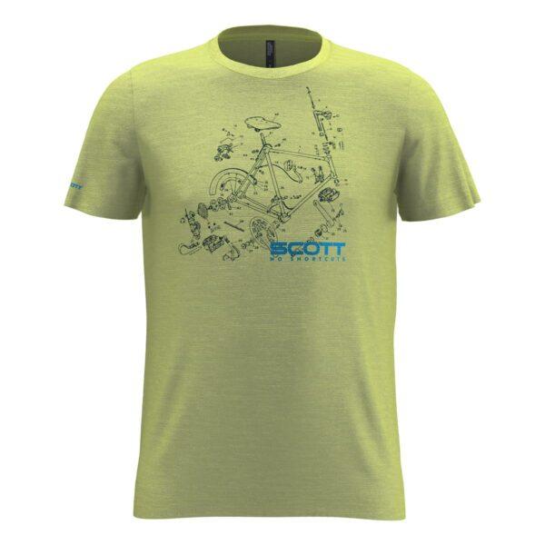 scott pánské triko 10 Graphic Dri kr.rukáv 2020