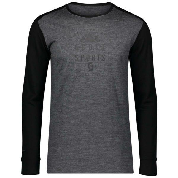 Scott pánské triko Defined Merino l/sl 2020_2021