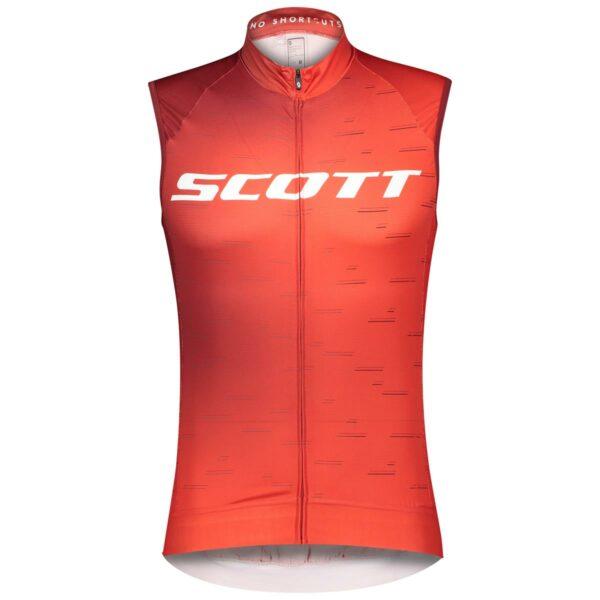 scott pánský cyklistický dres RC Pro bez rukávu 2021