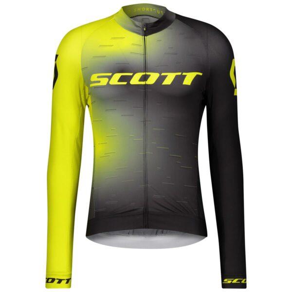 scott pánský cyklistický dres RC Pro s dlouhým rukávem 2021