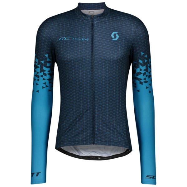 scott pánský cyklistický dres RC Team 10 s dlouhým rukávem 2021