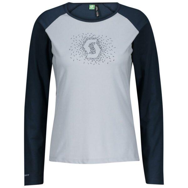 scott dámské cyklistické triko Defined DRI Graphic s dlouhým rukávem 2021