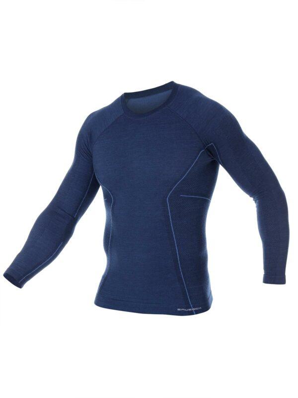 Brubeck Pánské triko s dlouhým rukávem Active Wool 2020_2021