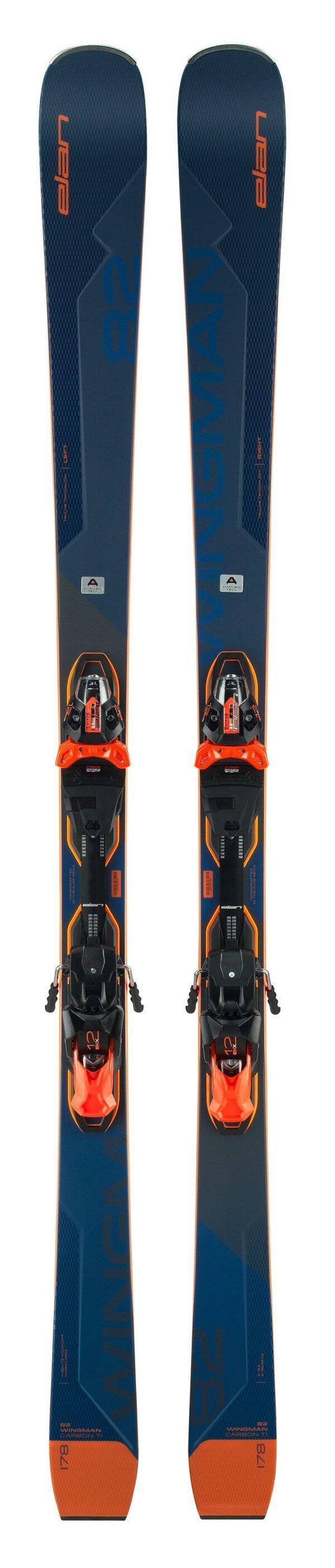 Elan sjezdové lyže WINGMAN 82 CTI FUSION + VÁZÁNÍ EMX 12
