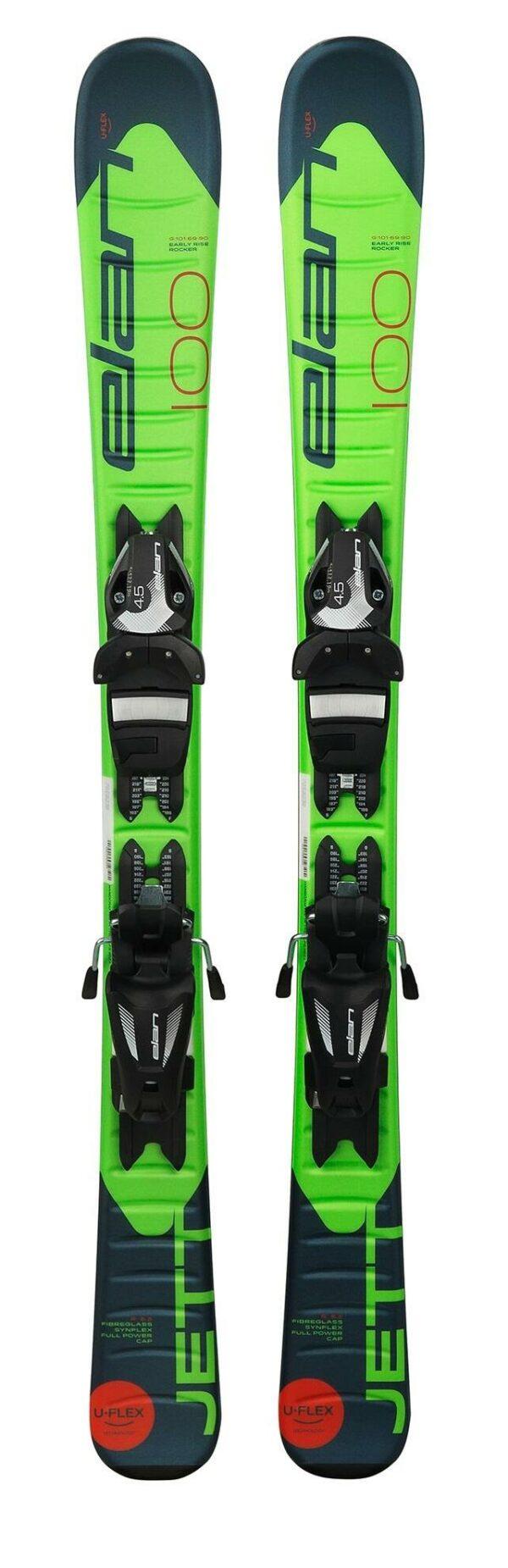 elan juniorské lyže JETT QS + VÁZÁNÍ EL 7.5