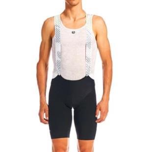Giordana Pánské cyklistické šortky s kšandami Lungo 2020