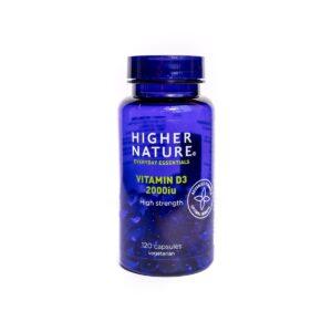 High Strength Vitamin D3 2000iu