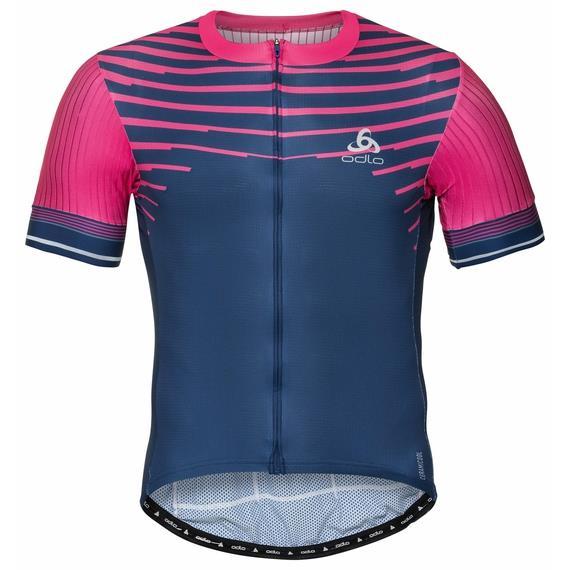 Odlo Pánský cyklistický dres ZEROWEIGHT s krátkým rukávem 2020