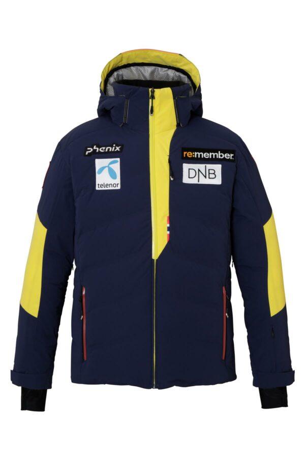Phenix Pánská péřová lyžařská bunda Norway Alpine team Hybrid Down 2020_2021