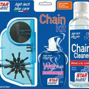 Star blubike čistící a mazací sada CHAIN KIT 2020