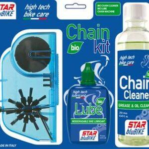 Star blubike čistící řetězová sada BIO CHAIN KIT 2020